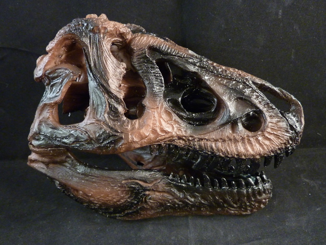 tyrannosuarus Rex Scale Model Skull for sale