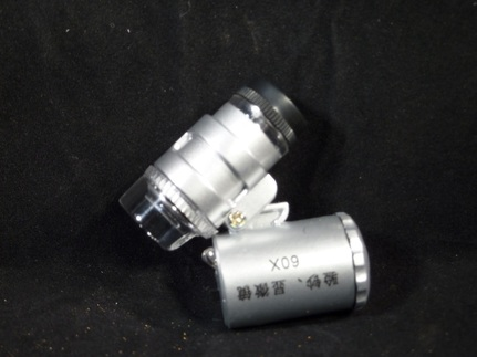 60X Microcope with LED / UV Light